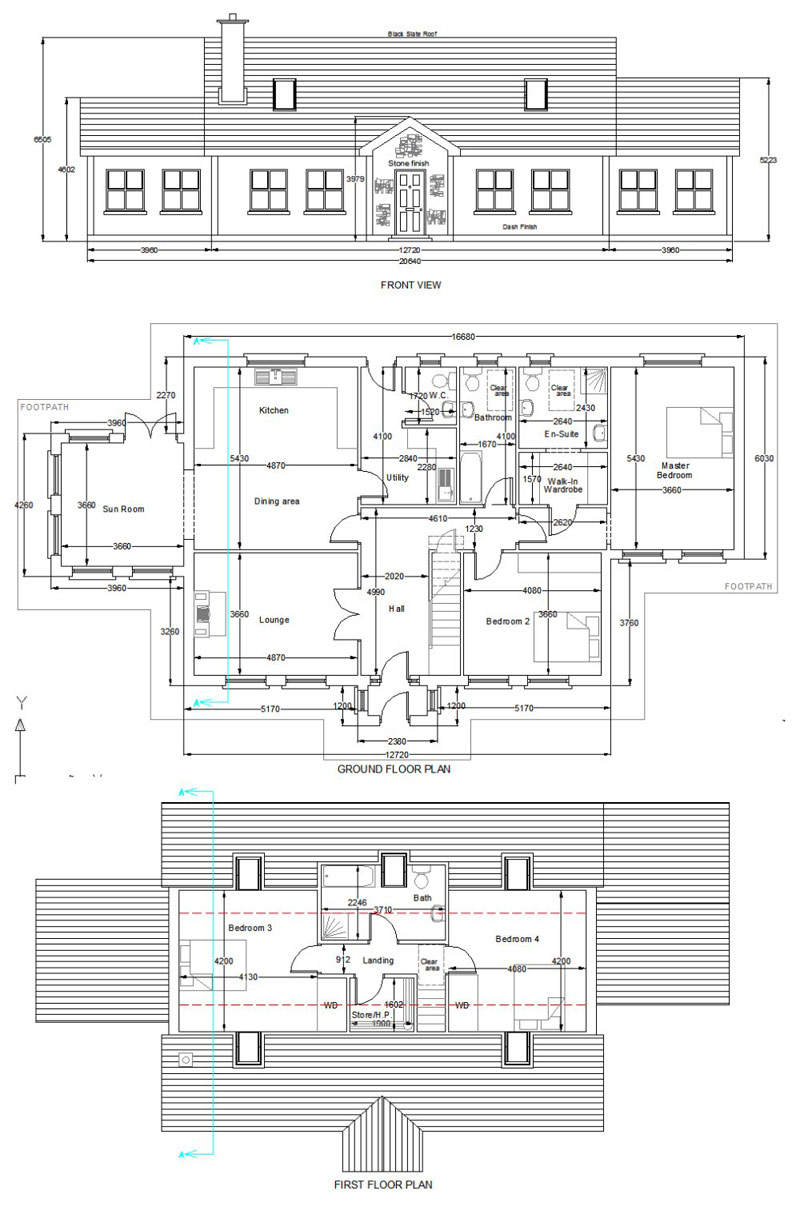 House107Alg buy house plans bungalows storey and a half two storey 107a,Storey And A Half House Plans