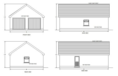 Garage design services m f kelly associates for Commercial garage plans
