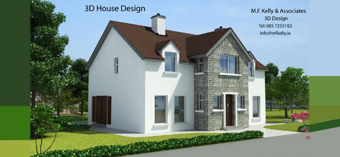 M.F. Kelly & ociates - Mullingar Westmeath - Residential ... on wicklow house plan, waterford house plan, coleraine house plan,