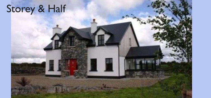 M f kelly associates mullingar westmeath for One and a half storey house plans
